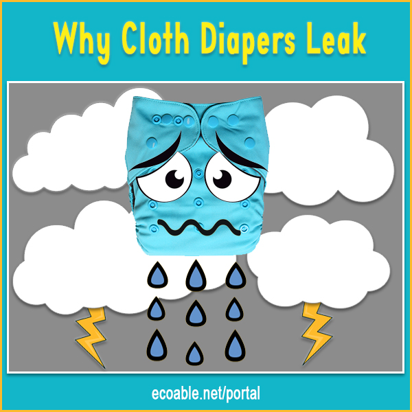 How to fix cloth diapers that leak?