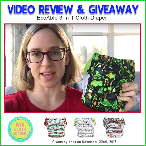 EcoAble 3-in-1 Potty Training Diaper Review