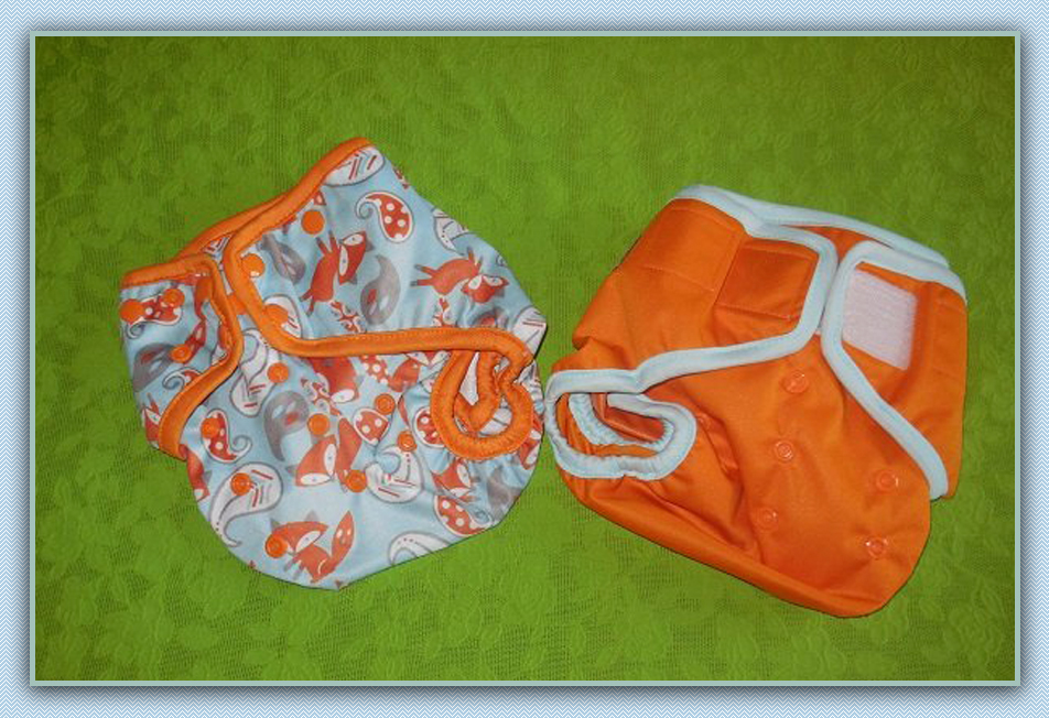 EcoAble Baby Cloth Diaper Cover Review with Snaps and Hook-and-loop closure fasteners