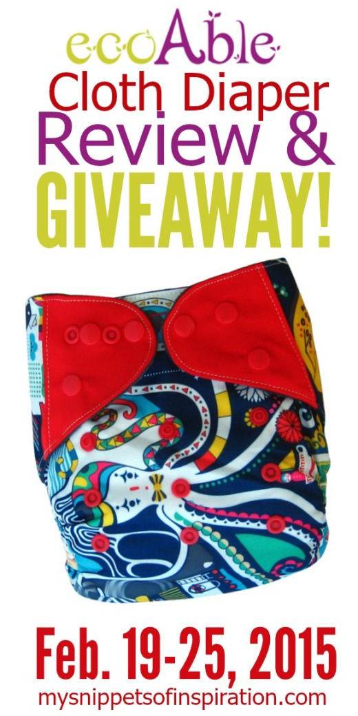 ecoAble All In One Cloth Diapers giveaway