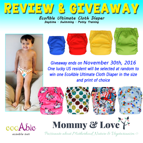 EcoAble Swim & Potty Training Cloth Diaper Review