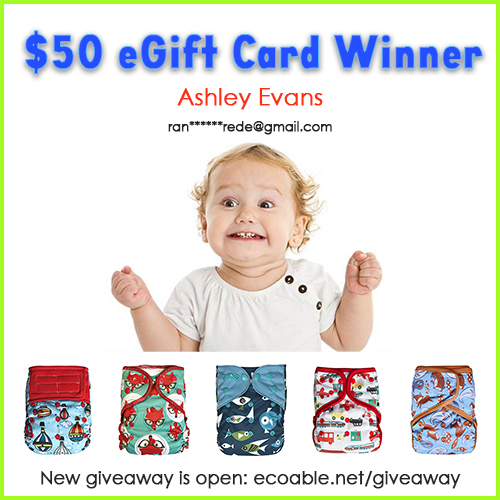 Cloth Diapers Giveaway from EcoAble