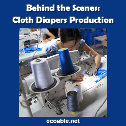 Cloth Diapers Production