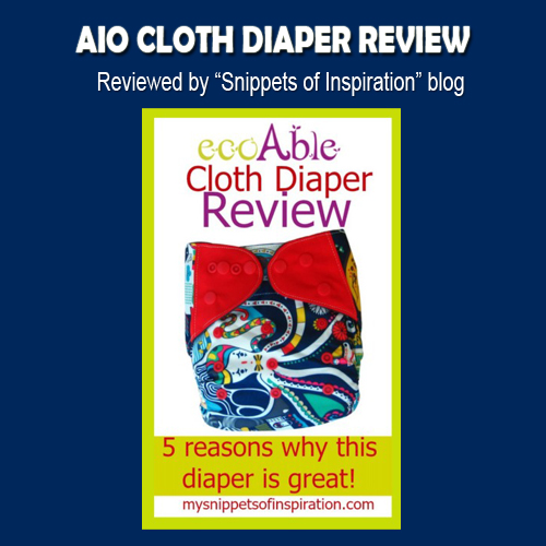 ecoAble Cloth Diaper review