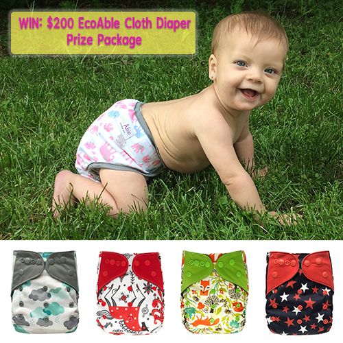 EcoAble $200 Cloth Diaper Package Giveaway